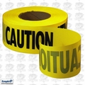 Empire 71-1001 1000' Roll Yellow Caution Barricade Tape