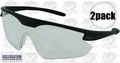 ERB 16700 2pk Point Clear Safety Glasses