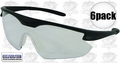 ERB 16700 6pk Point Safety Glasses Clear