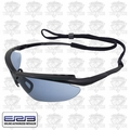 ERB 16858 Mirror Lens Safety Glasses Maltese Black/Blue
