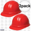 ERB 19134 2pk Red Slide-Lock Omega II Hard Hat