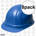 ERB 19956 8pk Blue Ratcheting Omega II Hard Hat