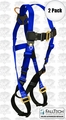 FallTech 7015 2pk Full Body Safety Fall Arrest Harness