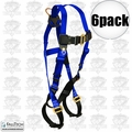 FallTech 7015 6pk Full Body Safety Fall Arrest Harness