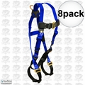FallTech 7017 8pk Contractor Full Body Harness
