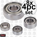 Freud 62-XXX 8x 4pc Assorted Ball Bearings for Router Bits
