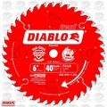 "Freud D0640X 6"" x 40 Tooth Diablo Boss Trim Saw Blade"