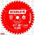 "Freud D0641X 6-1/2"" x 40 Tooth Diablo Finishing Circular Saw Blade"