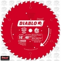 "Freud D1040X 10"" x 40 Tooth ATB Diablo Carbide Circular Saw Blade"