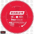 "Freud D1072CD 10"" x 72 Tooth Diablo Trex Composite Decking MTCG Blade"