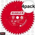 "Freud D1244X 4pk 12"" x 44 Tooth Diablo Combination Blade"