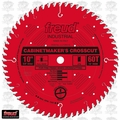 "Freud LU73R010 10"" x 60T ATB Carbide Cabinet Maker Circular Saw Blade"