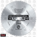 "Freud LU89M014 14"" x 100 Tooth TCG Carbide Non-Ferrous Metal Blade"