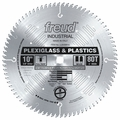 "Freud LU94M010 10"" x 80 Tooth MTCG Carbide Industrial Plastics Blade"
