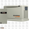 Generac 6551 22kW Alum Standby Genset w/ 200A ATS AC Shed FREE SHIP + L-GATE