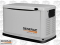 Generac 6721 11 kW Air Cooled Standby Generator w/ Grey Aluminum Enc