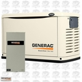 Generac 6729 20kW Air Cooled Standby Generator w/ 200A Switch + Steel Enc