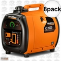 "Generac 6866 8pk iQ 2000 Watt Inverter ""Quietest Inverter You Can Buy"""