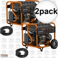 Generac 6931 Portable Generator 2Pk GP8000E Electric Start 50 States 'CARB'