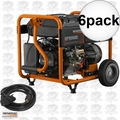 Generac 6931 Portable Generator 6Pk GP8000E Electric Start 50 States 'CARB'