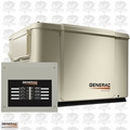Generac 6998 7.5/6KW PowerPact Standby Generator w/Automatic Transfer Switch