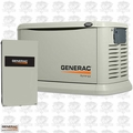 Generac 7040 20kW Generac Synergy 7040 Home Standby Generator with 200 Amp SE Rated Automatic Transfer Switch