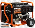 Generac 5941 6,500 Watt Electric Start Portable Generator (49 State)