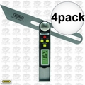 General Tools 828 4pk Digital Sliding T-bevel Electronic Protractor