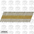 "Hitachi 10103 2-3/8"" 8D Ring Plastic Strip Bright Framing Nails"