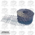"Hitachi 12211 2-3/8"" 8D Ring Wire Coil Framing Nails"