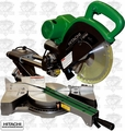 "Hitachi C10FSHPS 10"" Sliding Dual Compound Miter Saw PLUS Laser Marker"