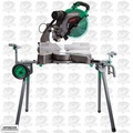 "Hitachi C12RSH2 15A 12"" Dual Bevel Compound Miter Saw w/ Laser and Stand"