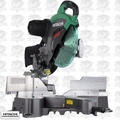 "Hitachi C12RSH2 15A 12"" Dual Bevel Sliding Compound Miter Saw with Laser"