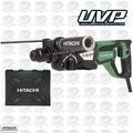 "Hitachi DH28PFY 1-1/8"" SDS Plus Low Vibration Rotary Hammer, 3-Mode, VSR"