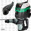 "Hitachi DH40MEY 1-9/16"" SDS Max Rotary Hammer w/HEPA Vac+Dust Collection"