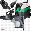 Hitachi DH45ME 1-3/4'' 2 Md DS Max Rotary Hammer w/HEPA Vac+Dust Collection