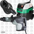 Hitachi DH45ME 1-3/4'' 2Mode SDSMax Rotary Hammer w/HEPA Vac+Dust Collection