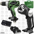 Hitachi DS18DSAL 18V HXP Li-Ion 2-Tool Combo Kit with 2 HXP Batteries