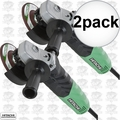 "Hitachi G12VA 2pk 4-1/2"" 13-Amp Variable Speed Angle Grinder"