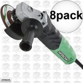 "Hitachi G12VA 8pk 4-1/2"" 13-Amp Variable Speed Angle Grinder"