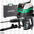 Hitachi H45MEY SDS Max AC Brushless Demo Hammer w/HEPA Vac+Dust Collection
