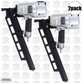 "Hitachi NR83A3 2pk 3-1/4"" Plastic Collated Framing Nailer w DEPTH ADJUSTMENT"