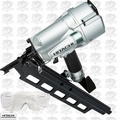 "Hitachi NR83A5S 3-1/4"" Plastic Collated Framing Nailer (No Depth Adjustment)"