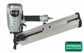 "Hitachi NR90AEPR 2"" - 3-1/2"" 21 Deg. Full Round Head Framing Nailer"