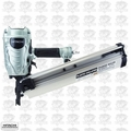 "Hitachi NR90AES1 2"" - 3-1/2"" 21 Deg. Full Round Head Framing Nailer"