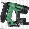 "Hitachi NT1850DE 2"" 18V Brushless Lithium Ion 18Ga Brad Nailer"