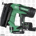 "Hitachi NT1865DM 2-1/2"" 18V Brushless Li-Ion 16Ga Straight Finish Nailer"