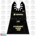 "Imperial Blades IBOA250-1 ONE FIT 2-1/2"" 12T Fast Wood Oscillating Blade"