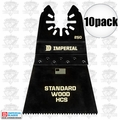 "Imperial Blades IBOA250-10 10pk ONE FIT 2-1/2"" 12T Wood Oscillating Blade"