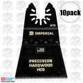 "Imperial Blades IBOA270-10 10pk ONEFIT 2-1/2"" J-Tooth Oscillating Blades HCS"